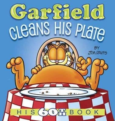 By Jim Davis ( Author ) [ Garfield Cleans His Plate: His 60th Book Garfield By Aug-2015 Paperback