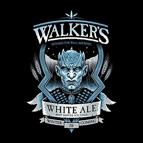 Game Of Thrones Walkers White Ale Men's Vest Black