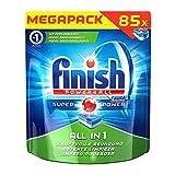 Finish All in 1  Spülmaschinentabs, Geschirrspültabs für kraftvolle Reinigung, Geschirrspülmittel, Megapack, 85 Tabs