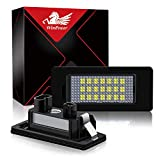 Win Power Fehlerfrei LED Lizenz Kennzeichenbeleuchtung Montage Bright Weiß Lampen Leuchtmittel, 2 Stücke