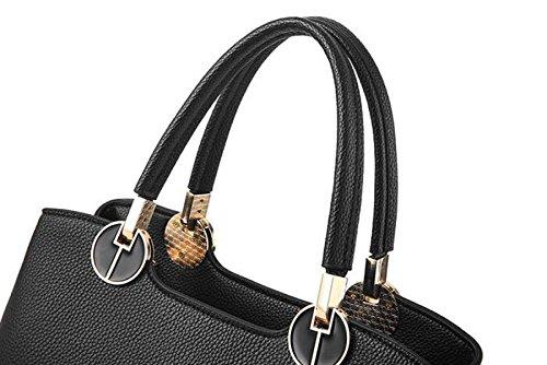 Weibliche Tasche Retro Handtasche Schultertasche Messenger Tasche Atmosphäre Einfache Mode Lässig Eleganz Blue1