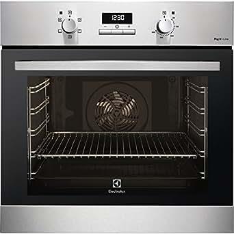 Electrolux F43GXE Forno a gas naturale 69L 1760W A+ Nero, Acciaio inossidabile forno