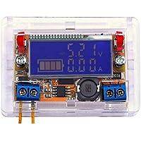 Bobury 3A/5A/LCD 10A de visualización del módulo DC-DC ajustable de paso bajo módulo de alimentación del regulador de voltaje del convertidor Buck