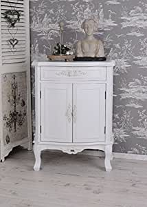 vintage schrank shabby chic schuhschrank kommode weiss nachtschrank palazzo exclusiv. Black Bedroom Furniture Sets. Home Design Ideas