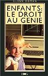 ENFANTS . LE DROIT AU GENIE par Doman