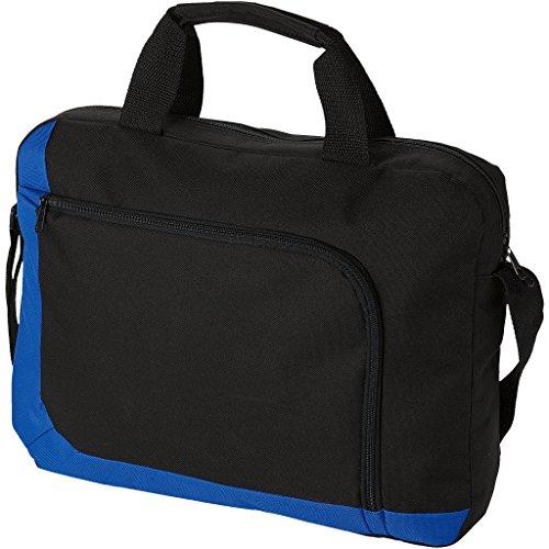 Bullet San Francisco Konferenze Tasche (40 x 7 x 30.5cm) (Solide Schwarz/Royal Blau)