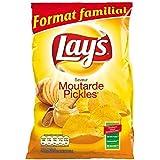 Lay's chips moutarde pickles 220g (Prix Par Unité) Envoi Rapide Et Soignée