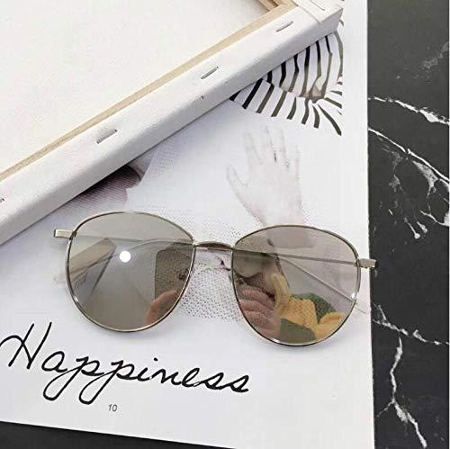 Sonnenbrille weibliche Han Chao net rote Sonne Runde Metall Sonnenbrille Myopie Brille Outdoor-Reisesport Reiten Fahrspiegel Brille-5