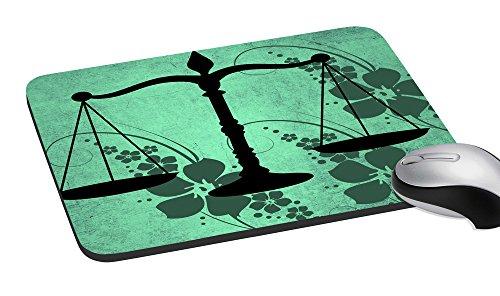 meSleep libra digital gedruckte Mausunterlage multicolor einfach schreibende Handgelenkauflage Computer u. Laptop-Mausunterlage Matte