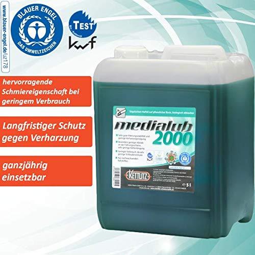 """Sägekettenöl Bio 5 Liter KETTLITZ-Medialub 2000 """"Blauer Engel"""" nach neuester RAL-UZ 178 - KWF Geprüft"""
