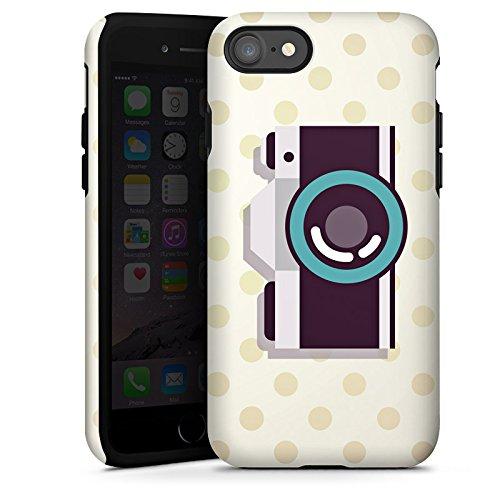 Apple iPhone X Silikon Hülle Case Schutzhülle Kamera Symbol Linse Tough Case glänzend