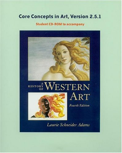 History of Western Art's Core Concepts CD-ROM, V 2.5 -