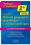 Histoire-géographie, géopolitique et sciences politiques - Première - Nouveaux programmes...