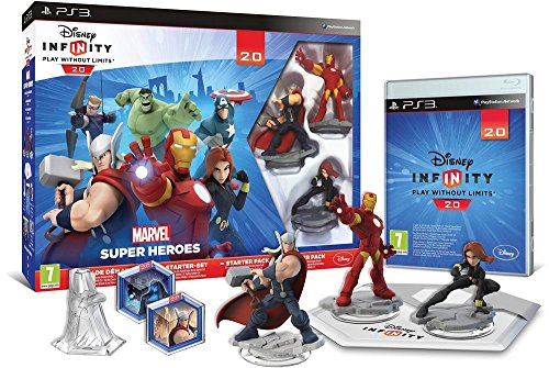 Disney Infinity 2.0: Marvel Super Heroes Starter-Set PS3 [AT-PEGI]