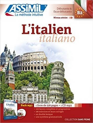 L'italien : Pack audio (1CD audio MP3) par Anne-Marie Olivieri