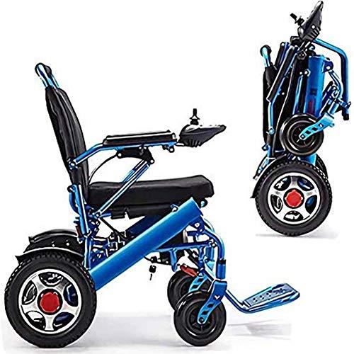 LPsweet Elektro-Rollstuhl, Leicht Lntelligent Carry Elektro-Rollstühle, Aluminiumlegierung Leichte Mobilität Gerät, Für Erwachsene Und Behinderungen -