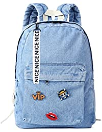 219ea4c60e Backpacks for teen girls Denim children School Bag Jeans Backpack for  college .