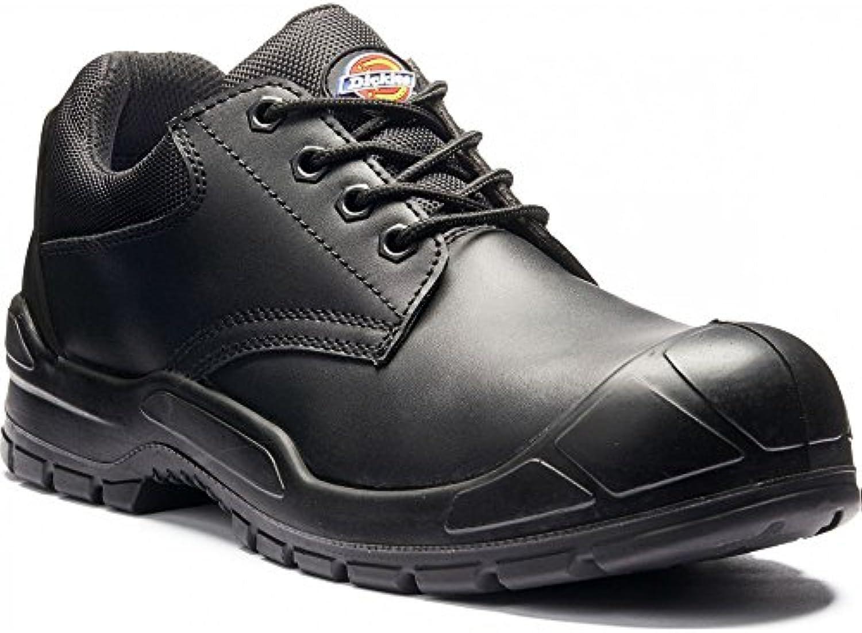 Dickies Mens Trenton transpirable piel puntera de acero zapatos de seguridad