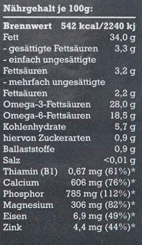 mituso Bio Chia Samen, 1er Pack (1 x 500g) inkl. Drahtbügelglas
