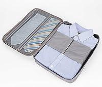 Newsky Newsky Multi-function Waterproof Shirt Ties Organizer Storage Bag Travel Pouch Luggage Gray