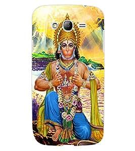 ColourCraft Lord Hanuman Design Back Case Cover for SAMSUNG GALAXY GRAND NEO I9060