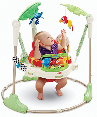 Fisher Price - K6070 -Price Jumperoo Jungle 5052615026734