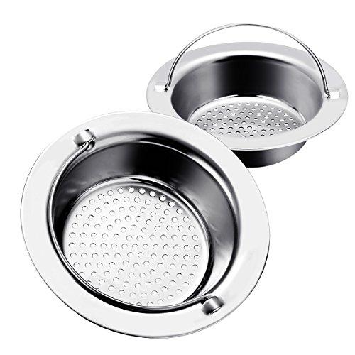 Filtro lavello Baban 2Pcs Lavello da cucina in acciaio inox Colino ...