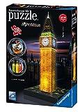 Ravensburger 12588 3D-Puzzle Big Ben bei Nacht