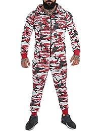 REDRUM | Herren | Sportanzug | Trainingsanzug | Jogginganzug | Camouflage | Militär | Jogginghose und -jacke | Freizeitmode für den Partnerlook | Größe XS - 3XL | 6 Trendige Farben