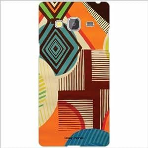 Design Worlds - Samsung Z3 Designer Back Cover Case - Multicolor Phone Cover