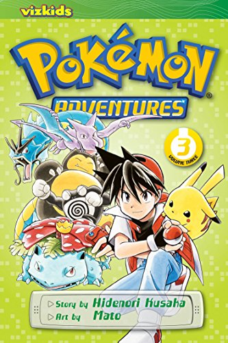 POKEMON ADVENTURES GN VOL 03 RED BLUE