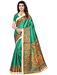 SAREE MALL Womens Art Silk Saree With Blouse (sarees Offer Below 500 Rs_SRJKH027)