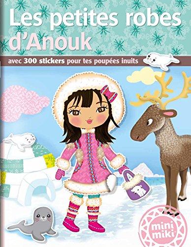 Minimiki - Les petites robes d'Anouk - Stickers par Collectif