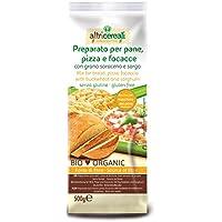 Probios AltriCereali Preparado para Pan y Pizzas con Alforfón y Sorgo - Paquete de 6 x