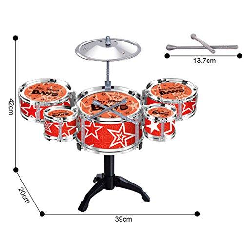 gazechimp-niedlichen-mini-jazz-drum-percussion-instrumenten-kit-schlagzeug-5-trommeln-und-1-becken-f