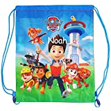 Personalised PAW Patrol Drawstring Swimming Sports Bag