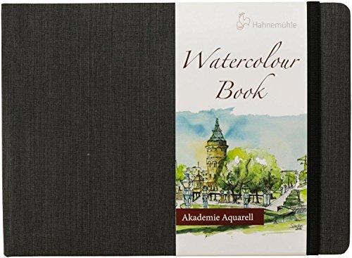 Aquarellbuch, Landschaftsformat 200 g/m², 30 Blatt/60 Seiten, A5 (Sigma Creative)