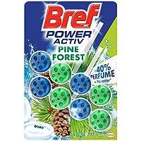 Bref Power Activ Duplo Natura Cesta WC - Paquete de 2 x 50 gr - Total: 100 gr