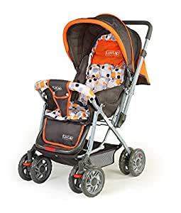 Luvlap Sunshine Baby Stroller (Orange)