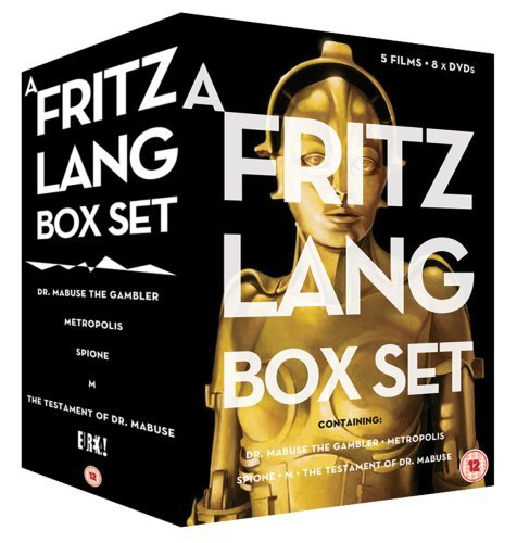 Fritz Lang Box Set [8 DVDs] [UK Import]