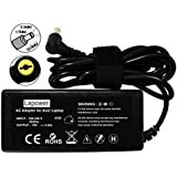Lapower Adapter For Acer Laptop 19V 3.42A 1 Year Warranty Power Cord Included