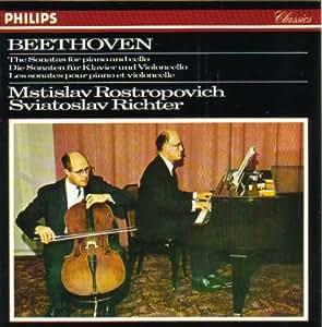 Beethoven: Les Sonates pour piano et violoncelle