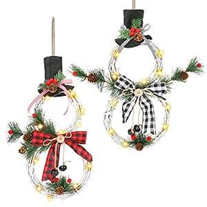 Welltop Guirnalda de Navidad para