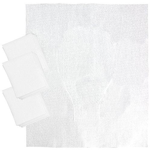 COM-FOUR® 30x WC Sitz Schutz-Auflage, hygienische Toilettensitzauflagen aus Papier zur Einmalanwendung, 44x37cm (30 Stück) Flugzeug-klo