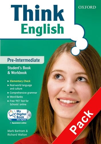 Think English. Pre-intermediate. Entry book-Student's book-Workbook-Culture book-My digital book. Per le Scuole superiori. Con CD-ROM. Con espansione online