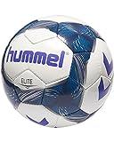 Hummel Erwachsene Elite FB Fussball, White/Vintage Indigo/Purple, 5
