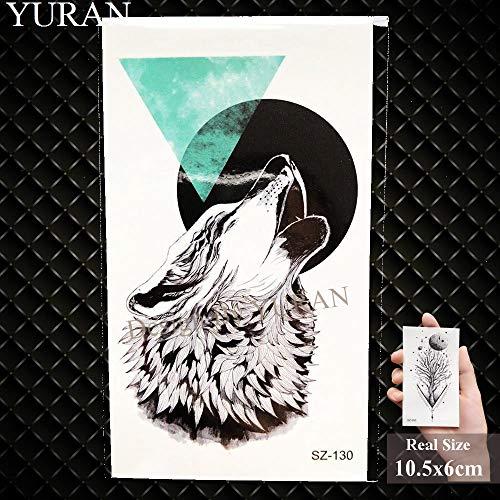 Gvdtykjf adesivo tatuaggio farfalla nera tatuaggi bambini gioielli adesivi rose viti trasferimento nero tatuaggi pasta labbra bastone 17x10 cm gtbx9020