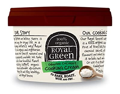 Royal Green Organic 2500ml Odourless Coconut Cooking Cream from Frenchtop