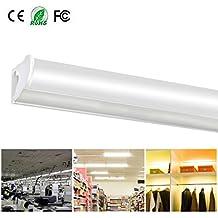 Tubo Fluorescente LED Lámpara de Tubo T5 Barra de Luces Lámparas de Ahorro de Energía Lluminación de la Oficina Lluminación Interior Luces de Gabinete para Garaje Sala de Conferencias Oficina Hospital de la Escuela Restaurantes Hoteles XYD® 10W 60cm 3000K 1pc