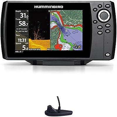 Humminbird Helix 7Chirp GPS Di G2Down Imaging Echolot Combo montaje fijo